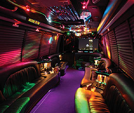 Party Bus San Diego Interior Party Buses in San Diego Top Dog Limo Bus San Diego