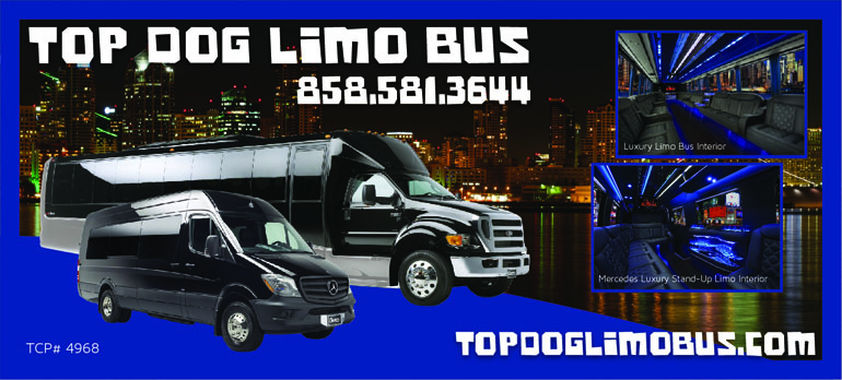 San Diego Party Bus - Top Dog Limo Bus in San Diego - Limobuses - Party Buses in San Diego