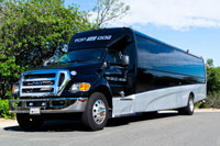 top dog limo bus all new party buses in san diego. Black Bedroom Furniture Sets. Home Design Ideas