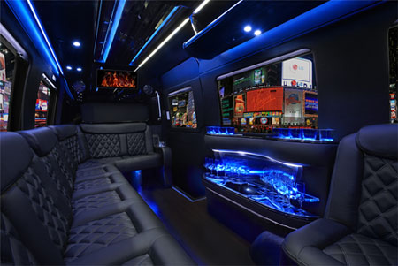 Interior Mercedes Limo